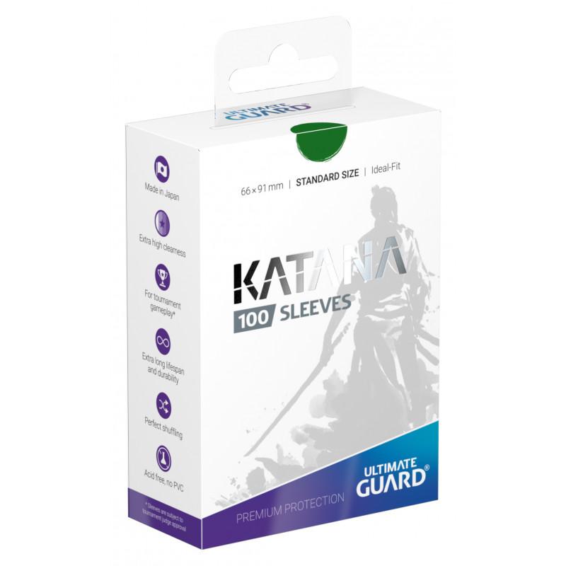 Ultimate Guard Katana Sleeves - Green