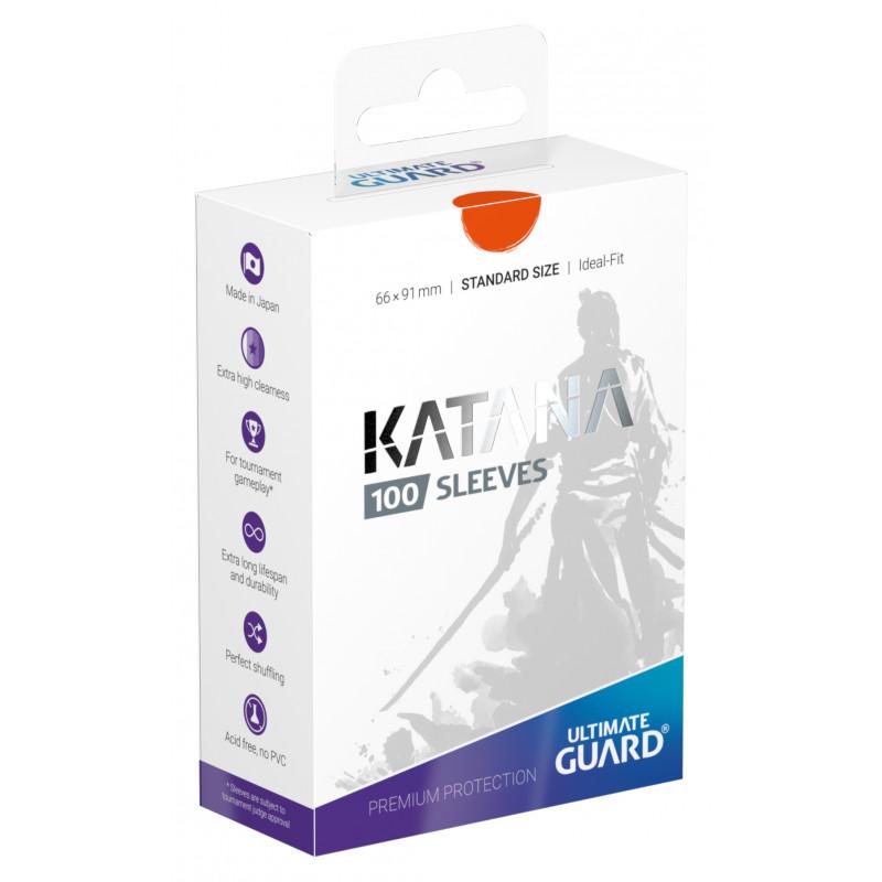 Ultimate Guard Katana Sleeves - Orange