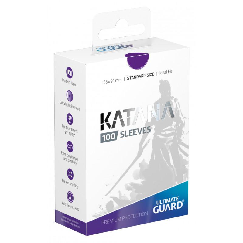 Ultimate Guard Katana Sleeves - Purple
