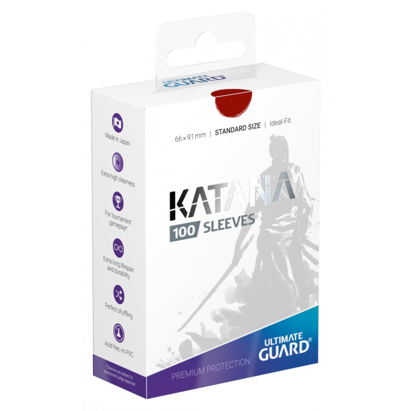 Ultimate Guard Katana Sleeves - Red
