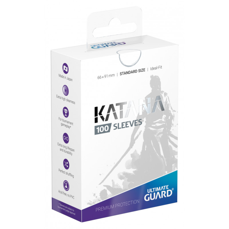 Ultimate Guard Katana Sleeves - White