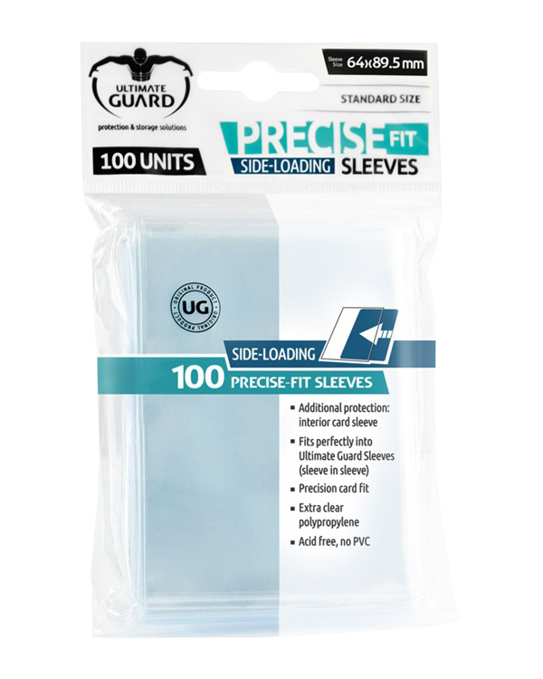 Ultimate Guard Precise-Fit Side-Loading Sleeves