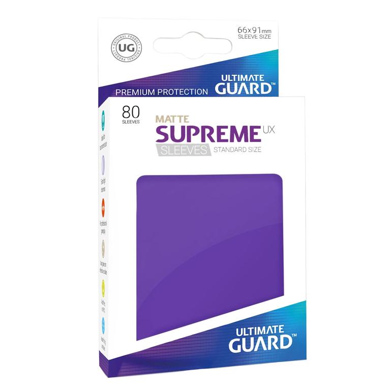 Ultimate Guard Supreme UX Matte Sleeves - Purple