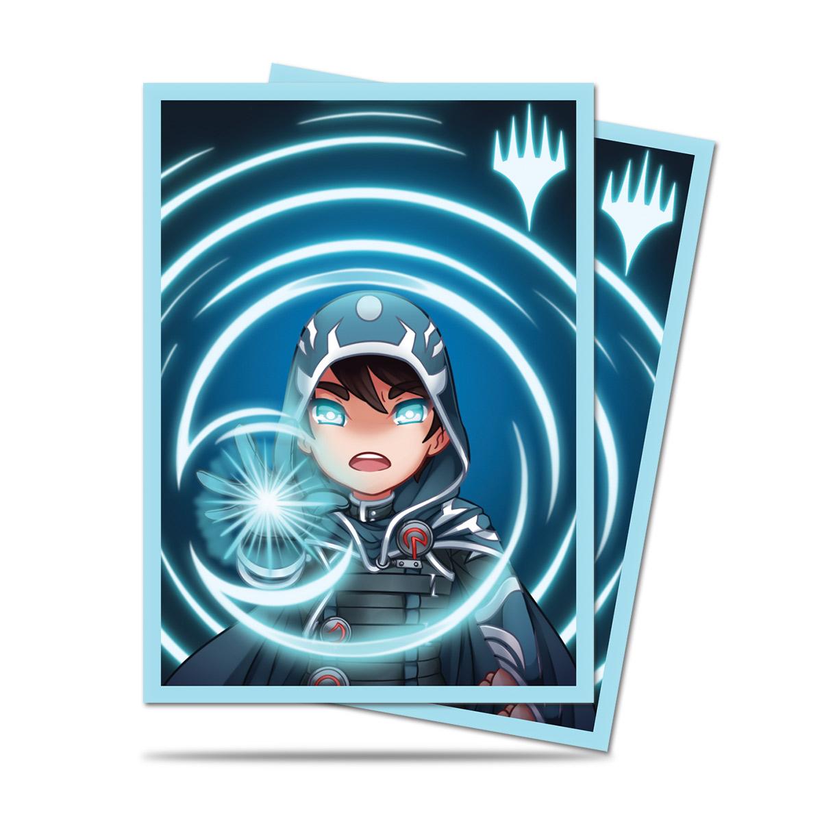 Ultra Pro Magic Matte Sleeves - Chibi Collection - Jace Mystic