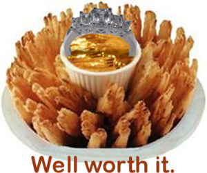 Riches beyond measure. With fries.