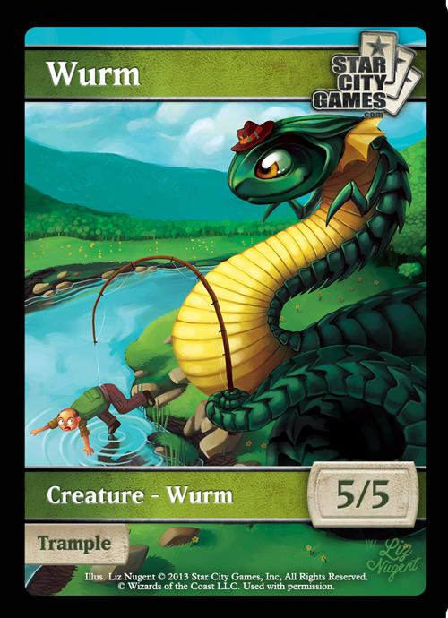 SCG Creature Collection: Wurm Token