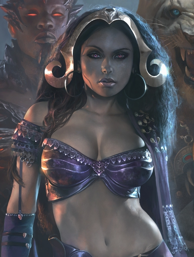 Liliana closeup