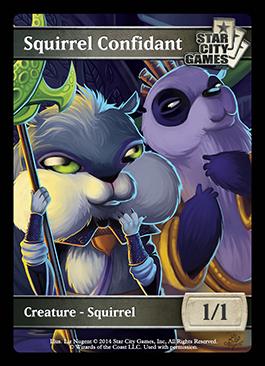 Squirrel Confidant token