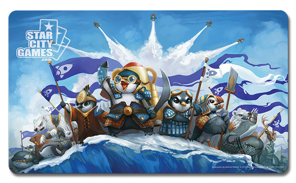 Penguins of Antarkir Prerelease Playmat