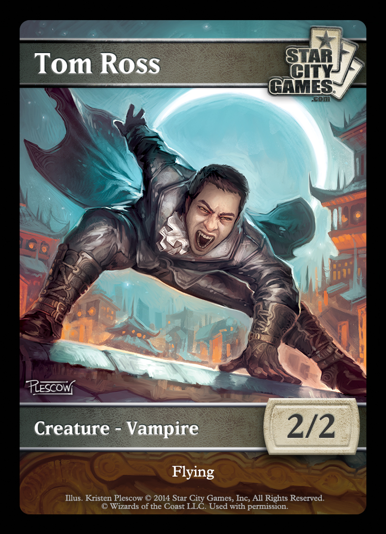 Tom Ross Vampire Token