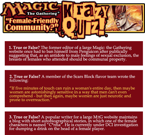 Magic Krazy quiz