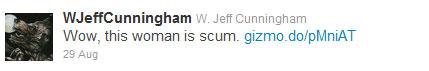 jeff cunningham tweet