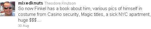 Ted Knutson tweet