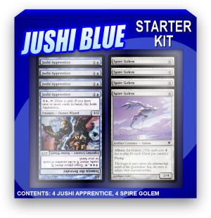 Must haves for all Jushi Blue decks.