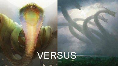 Snake Versus Mega-Hydra!