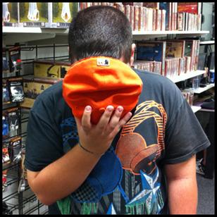 Rob Hiding Head