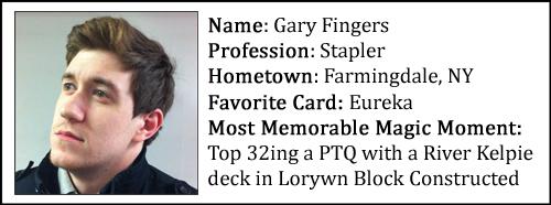 Gary's Bio