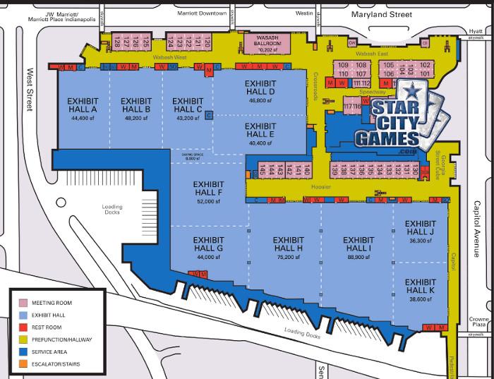 Indiana Convention Center Map Giperkubcom
