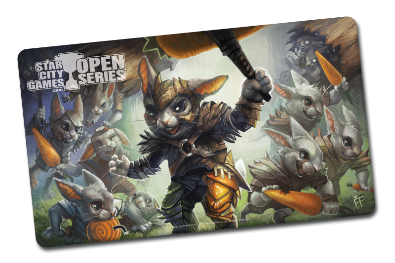 New Playmat: Hoppin' Rabbitmaster!