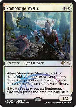 Stoneforge Mystic, 2016 Grand Prix Promo Card