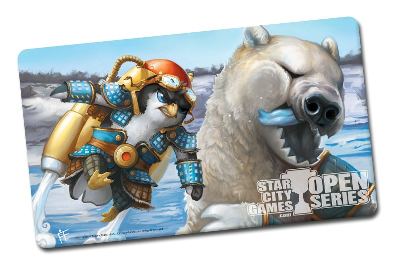 SCG Creature Collection Parody Playmat: Polar Punch!