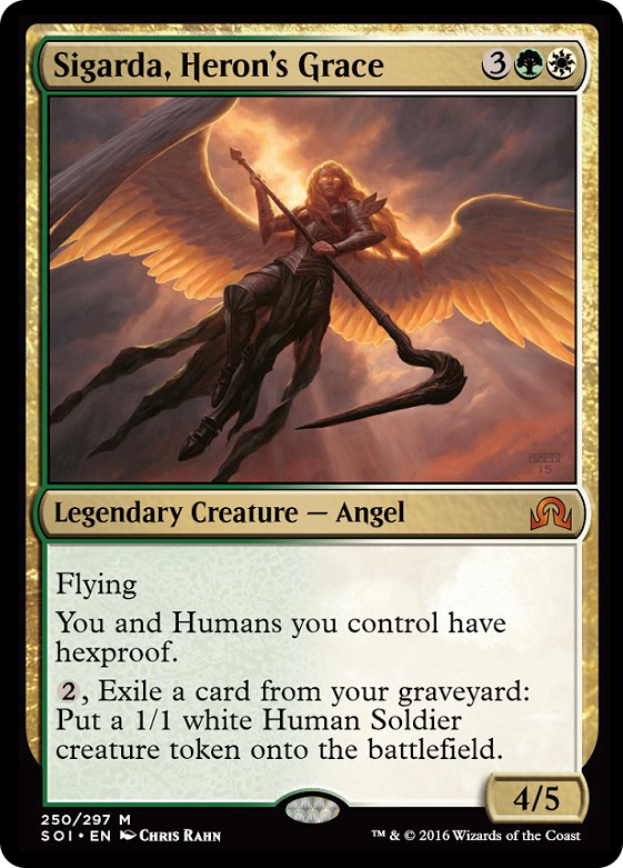 SOI] Sigarda, Heron's Grace : EDH
