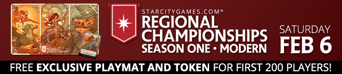 The StarCityGames.com<sup>&reg;</sup> Regional Championships, February 6!