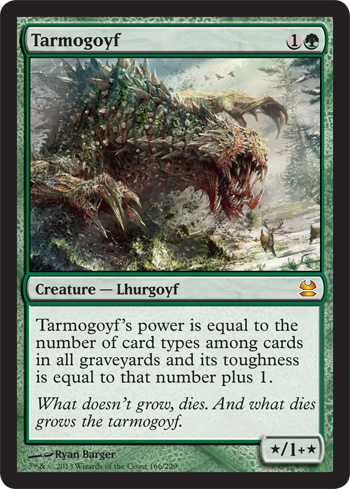 Tarmogoyf reprint