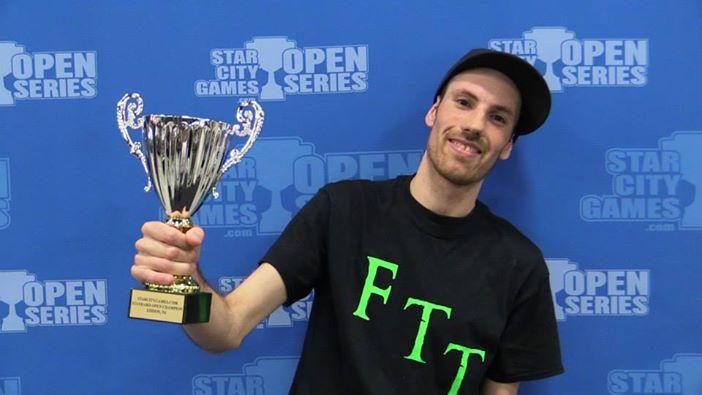 Kevin Jones   Open Series Trophy