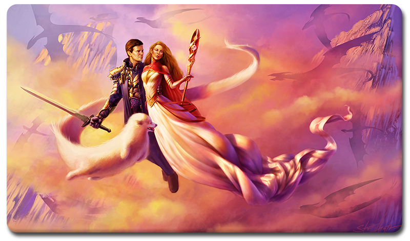 "Brian Kibler ""Wedding"" Playmat"