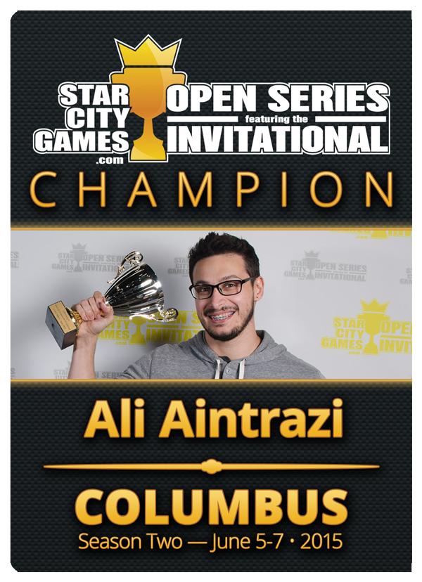 Ali Aintrazi Invitational Winner's Token