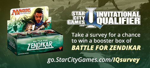 Take our IQ survey for a chance to win a box of Battle for Zendikar!