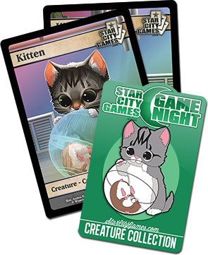 Kitten Game Night - April 2015