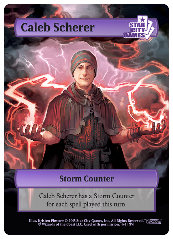Caleb Scherer's Invitational Winner's Token