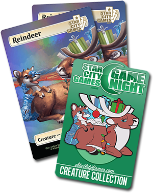 December Game Night - Reindeer
