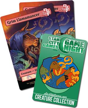 March Game Night Prizes - Grim Llamamancer!