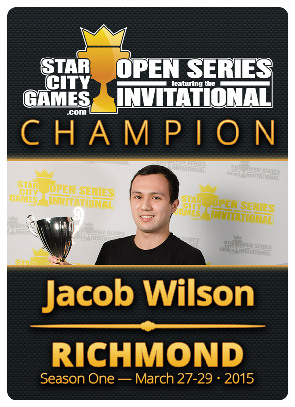 Jacob Wilson's Invitational Token - Back