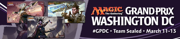 Grand Prix Washington, DC: March 11-13!
