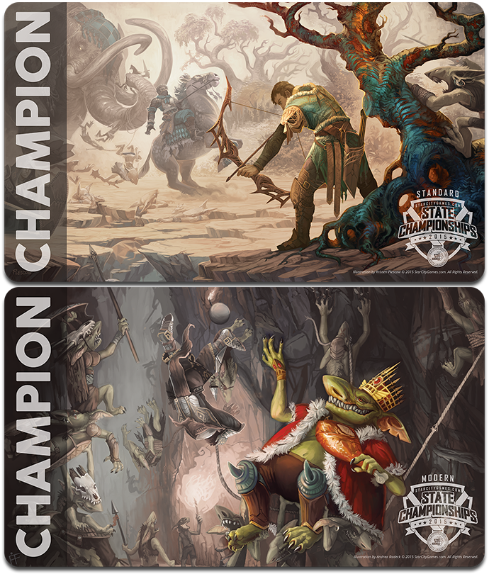 2015 Spring States Champions' Playmats