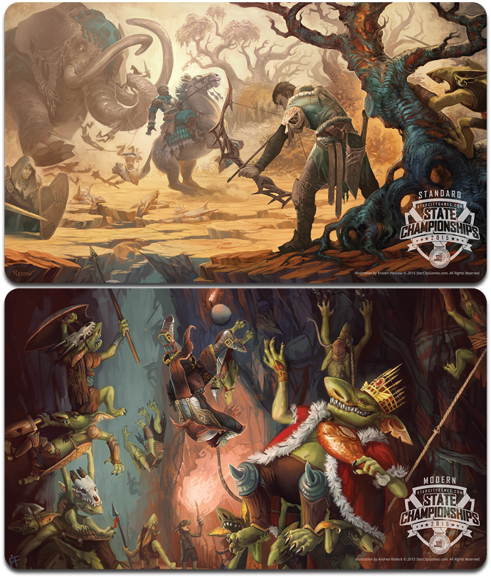 2015 Spring States Top 8 Playmats