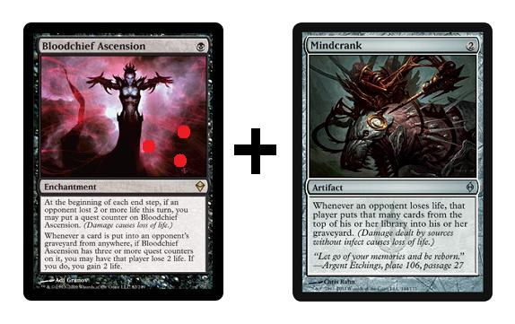 instant win mtg combo