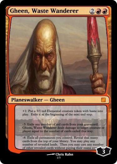Gheen, Waste Wanderer