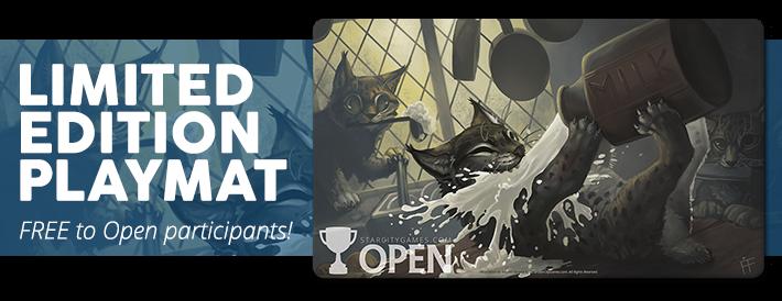 StarCityGames Open Series 2016 Season One Playmat Kitchen Lynx MTG SCG