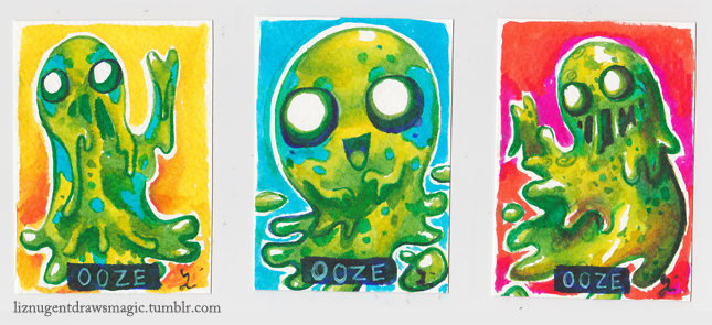 Ooze Tokens