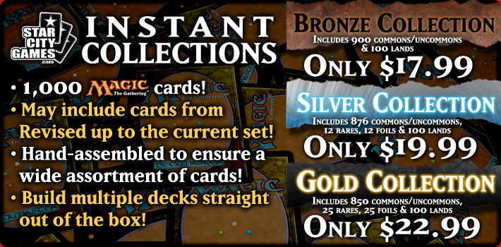 1,000 Card Collections - Available in Bronze, Silver & Gold!