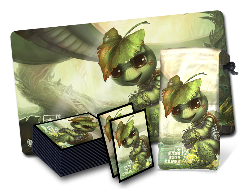 First Quarter 2015 Creature Collection Parody Retailer Bundle features Eturtle Witness
