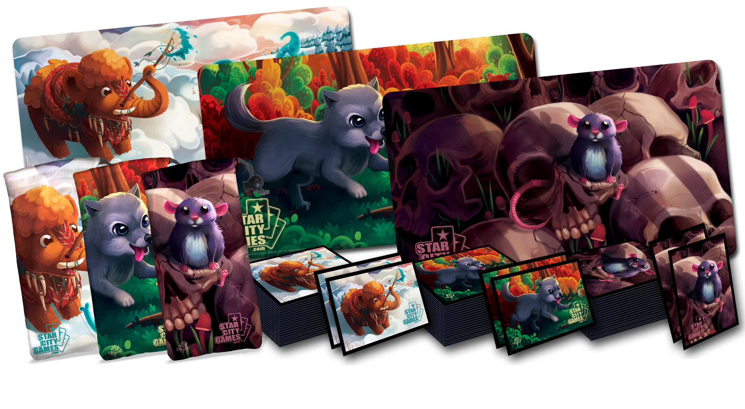 First Quarter 2015 Creature Collection Retailer Bundle includes Mammoth, Wolf and Rat!