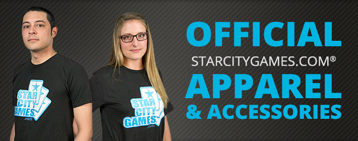 Official StarCityGames.com Apparel & Accessories