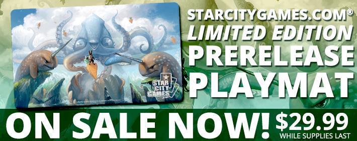 Battle for Zendikar Prerelease Playmat on Sale Now! $29.99 while supplies last