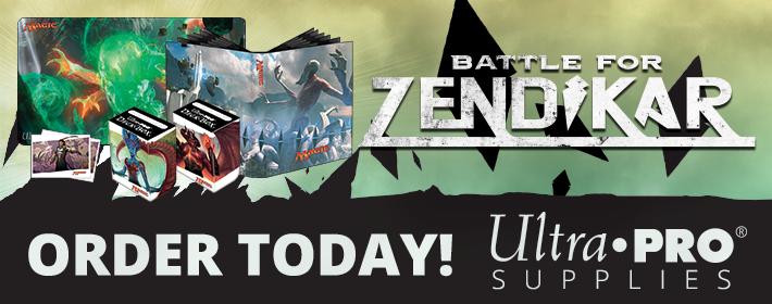 Battle for Zendikar Ultra Pro supplies available today!
